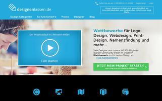 designenlassen Webseiten Screenshot