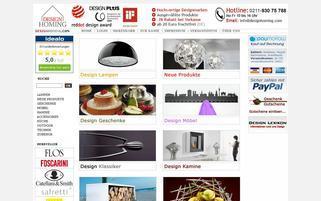 Designhoming Webseiten Screenshot