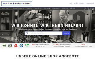 Deutsche Internet Apotheke Webseiten Screenshot