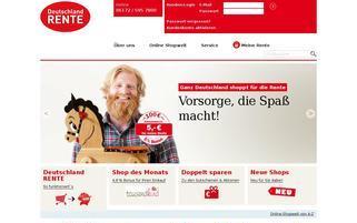 Deutschland RENTE Webseiten Screenshot