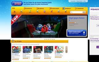 deutschland-spielt.de Webseiten Screenshot