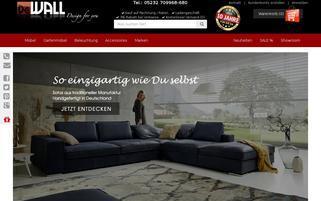 DeWall-Design Webseiten Screenshot