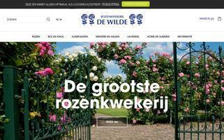 dewilde Webseiten Screenshot