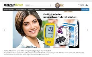 diabetes-outlet.de Webseiten Screenshot