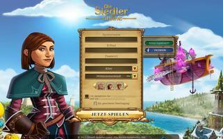 Die Siedler Online Webseiten Screenshot