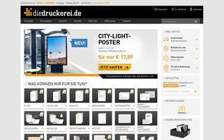 DieDruckerei Webseiten Screenshot