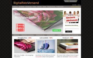 Digitalfotoversand Webseiten Screenshot