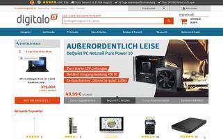 Digitalo Webseiten Screenshot