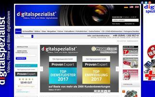 Digitalspezialist Webseiten Screenshot