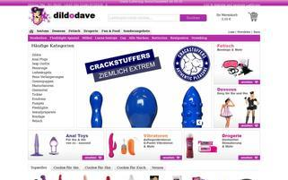 Dildodave Webseiten Screenshot