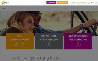 Direct Line Webseiten Screenshot