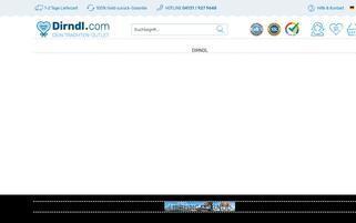 dirndl.com Webseiten Screenshot