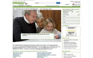 DISAGU Webseiten Screenshot