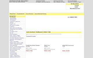 disapo Webseiten Screenshot