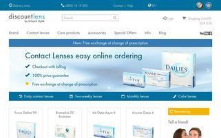 discountlens Webseiten Screenshot