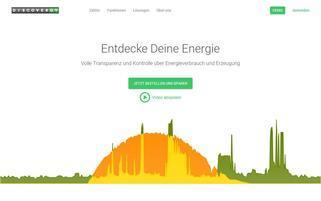 Discovergy Webseiten Screenshot