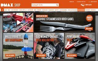 DMAX Shop Webseiten Screenshot