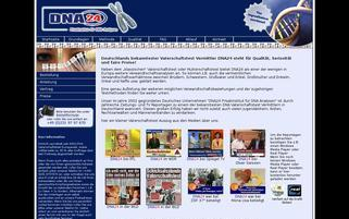 DNA-24 Webseiten Screenshot