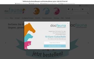 docfauna.de Webseiten Screenshot