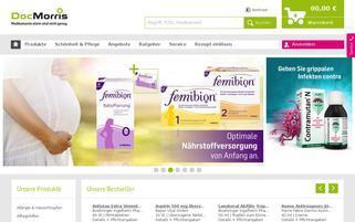 DocMorris Webseiten Screenshot