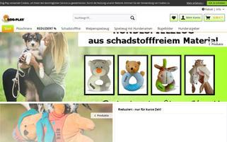 dog-play.de Webseiten Screenshot