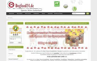 Dogfood24 Webseiten Screenshot