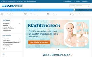 dokteronline.com Webseiten Screenshot