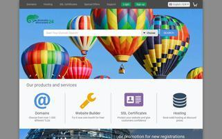 Domaindiscount24 Webseiten Screenshot