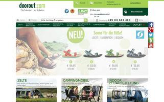 Doorout Webseiten Screenshot