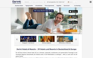 Dorint Webseiten Screenshot