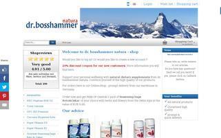 dr. bosshammer Webseiten Screenshot