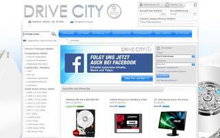 DriveCity Webseiten Screenshot