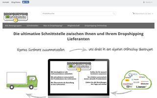 Dropshipping Webseiten Screenshot