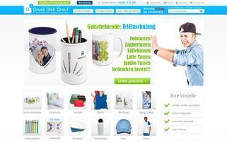 DruckDichDrauf Webseiten Screenshot