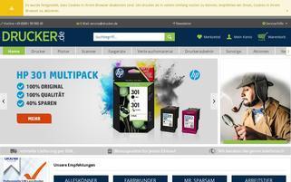 drucker.de Webseiten Screenshot
