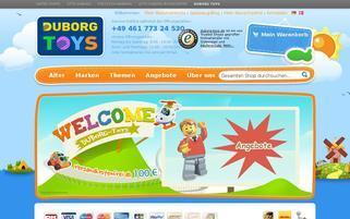 duborg-toys.de Webseiten Screenshot