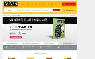 DUDEN Webseiten Screenshot