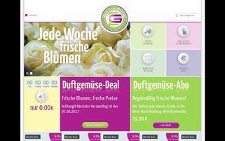 Duftgemüse Webseiten Screenshot