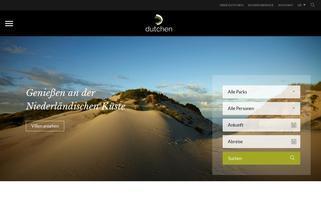 Dutchen Webseiten Screenshot