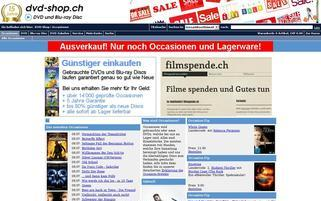 dvd-shop.ch Webseiten Screenshot