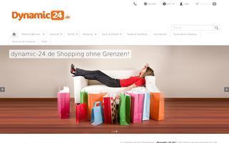 dynamic24.de Webseiten Screenshot