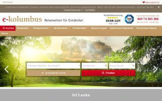 e-kolumbus Webseiten Screenshot