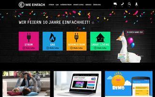 e-wie-einfach.de Webseiten Screenshot