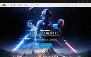 ea.com Webseiten Screenshot