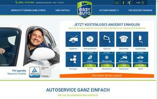 Easy Auto Service Webseiten Screenshot
