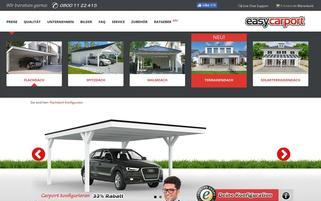 easycarport.de Webseiten Screenshot