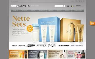 easyCOSMETIC Webseiten Screenshot