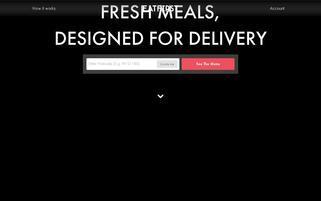 EatFirst Webseiten Screenshot