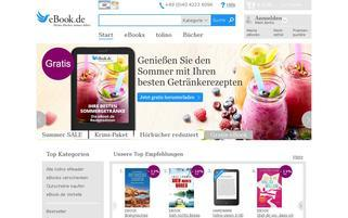 eBook.de Webseiten Screenshot