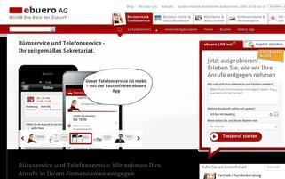 ebuero Webseiten Screenshot